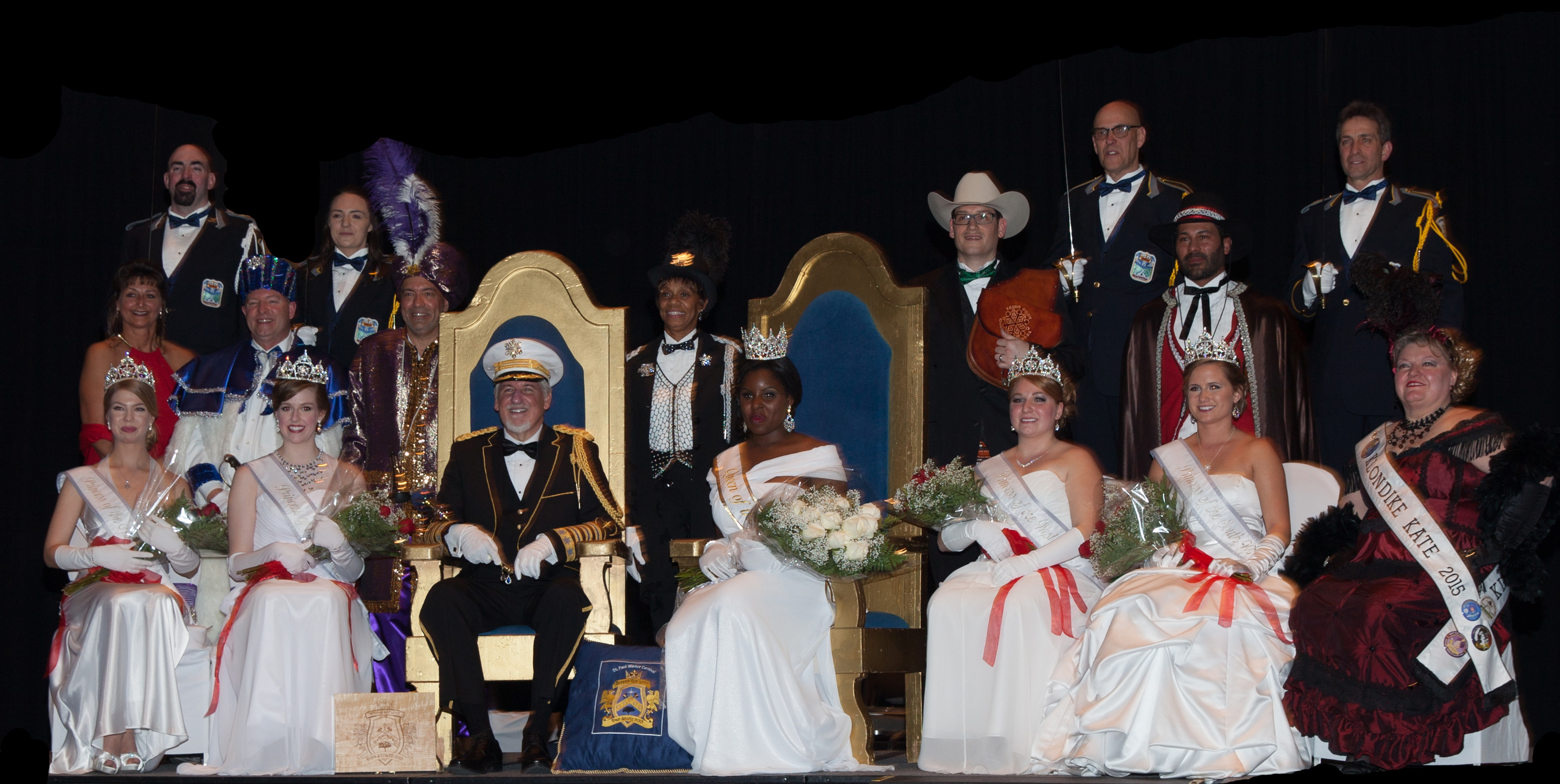 All of the 2015 Royalty