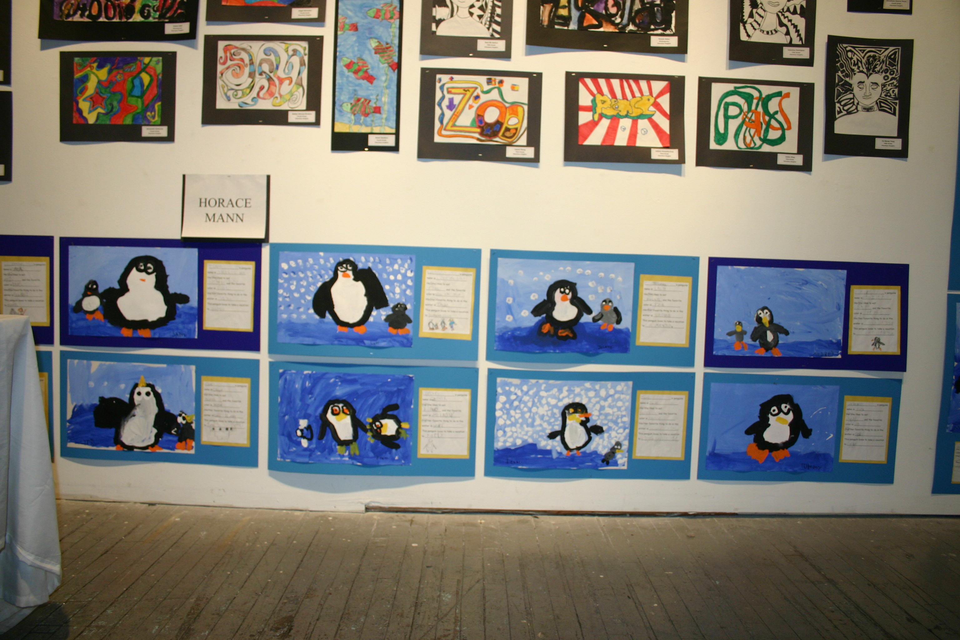 Childrens Winter Carnival Art Show 2