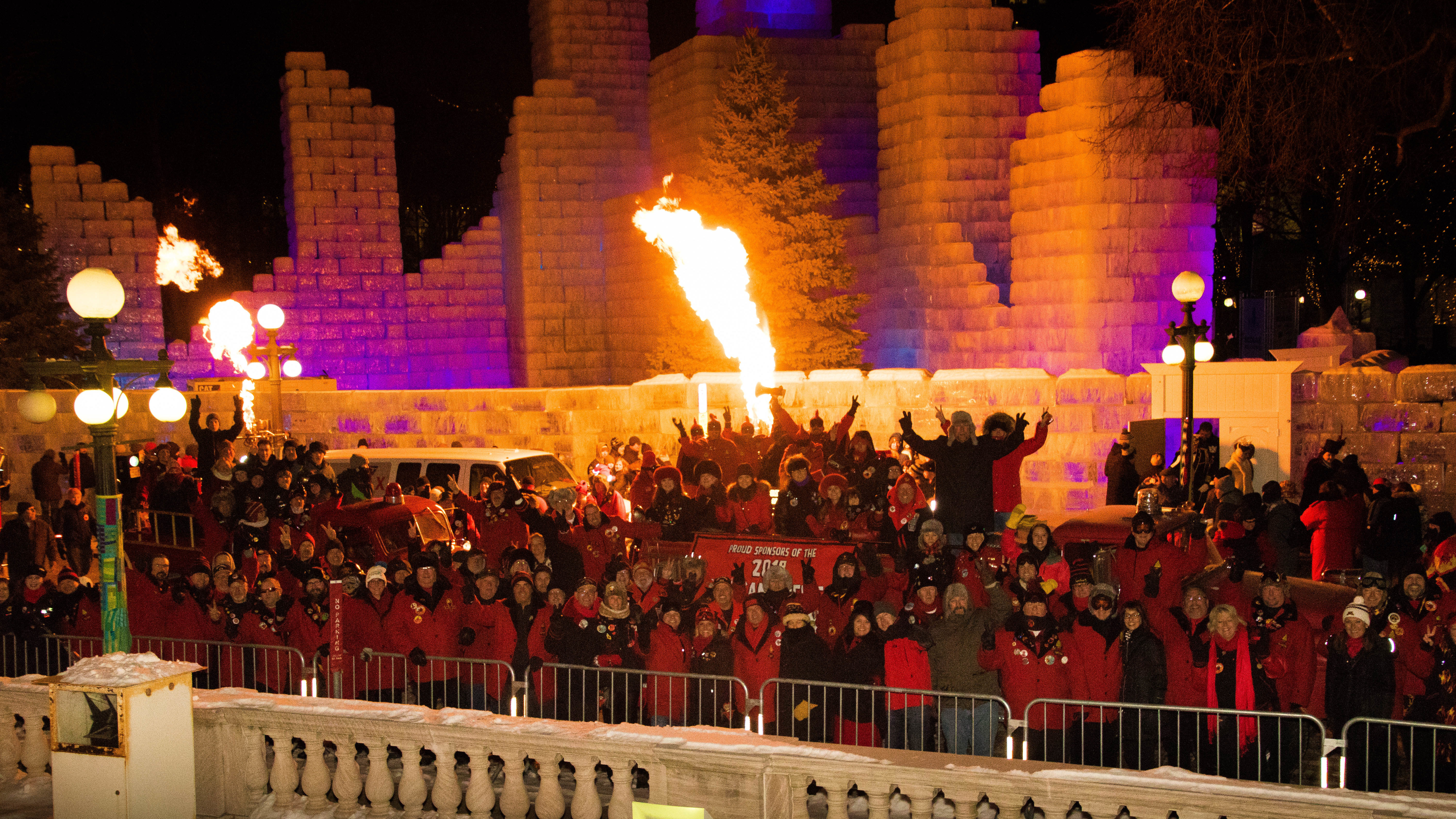 Vulcan Victory Torchlight Parade - Saint Paul Winter Carnival