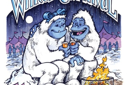 Beer Dabbler Winter Carnival '16 small poster