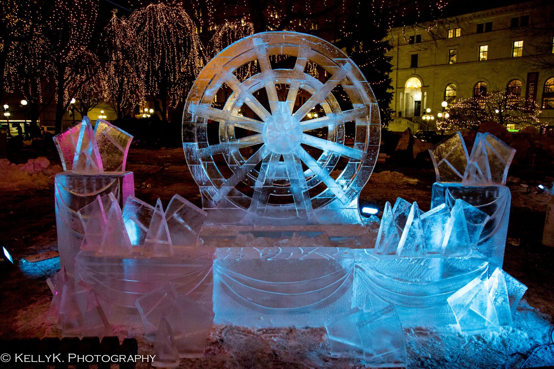 saint paul winter carnival ice carvings saint paul. Black Bedroom Furniture Sets. Home Design Ideas