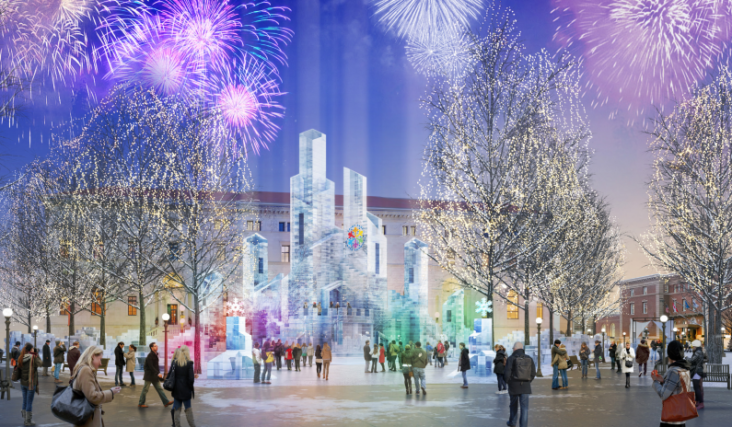 announcing the 2018 ice palace in rice park