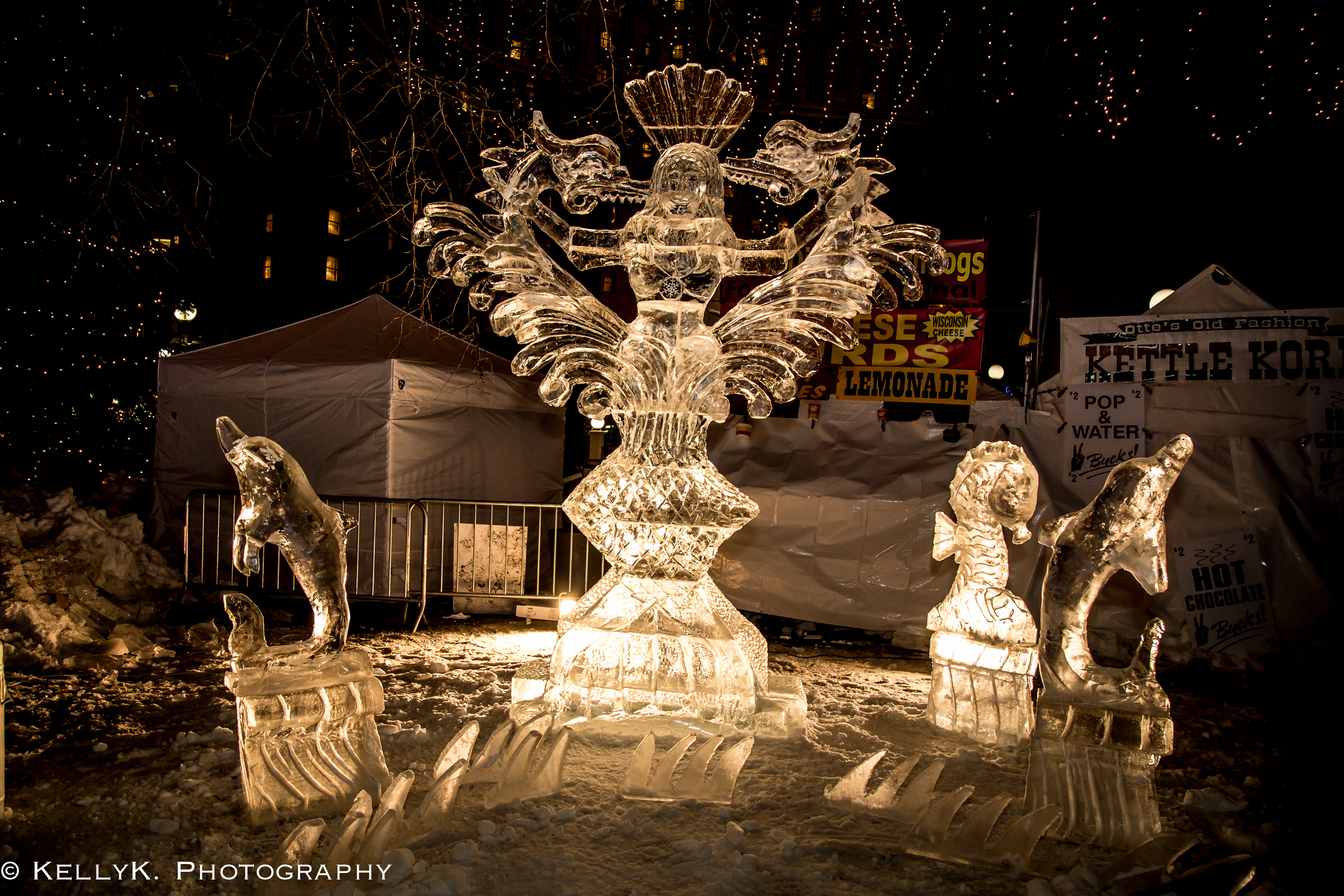 2018 ice carving competition saint paul winter carnival