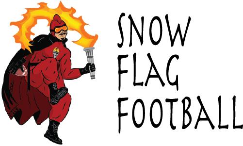 Vulcan Snow Park Snow Flag Football